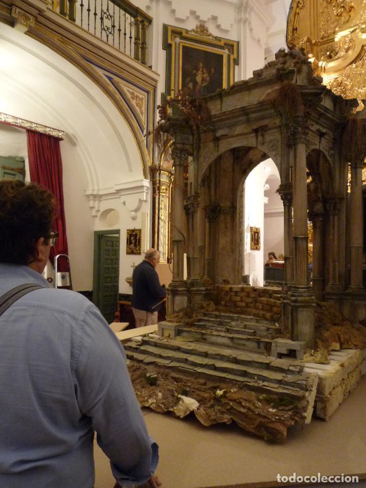 Arte: Nacimiento napolitano, precioso tabernaculo del s. XVIII para belen napolitano,Rebajado de 5000 eur - Foto 6 - 103977115