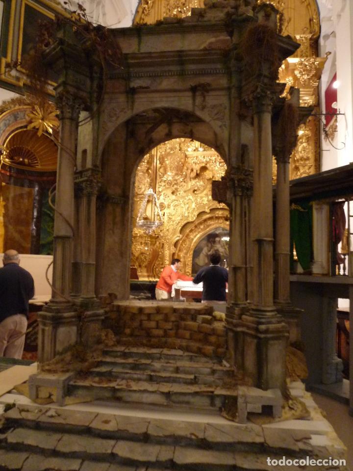 Arte: Nacimiento napolitano, precioso tabernaculo del s. XVIII para belen napolitano,Rebajado de 5000 eur - Foto 8 - 103977115