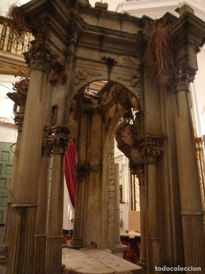 Arte: Nacimiento napolitano, precioso tabernaculo del s. XVIII para belen napolitano,Rebajado de 5000 eur - Foto 9 - 103977115