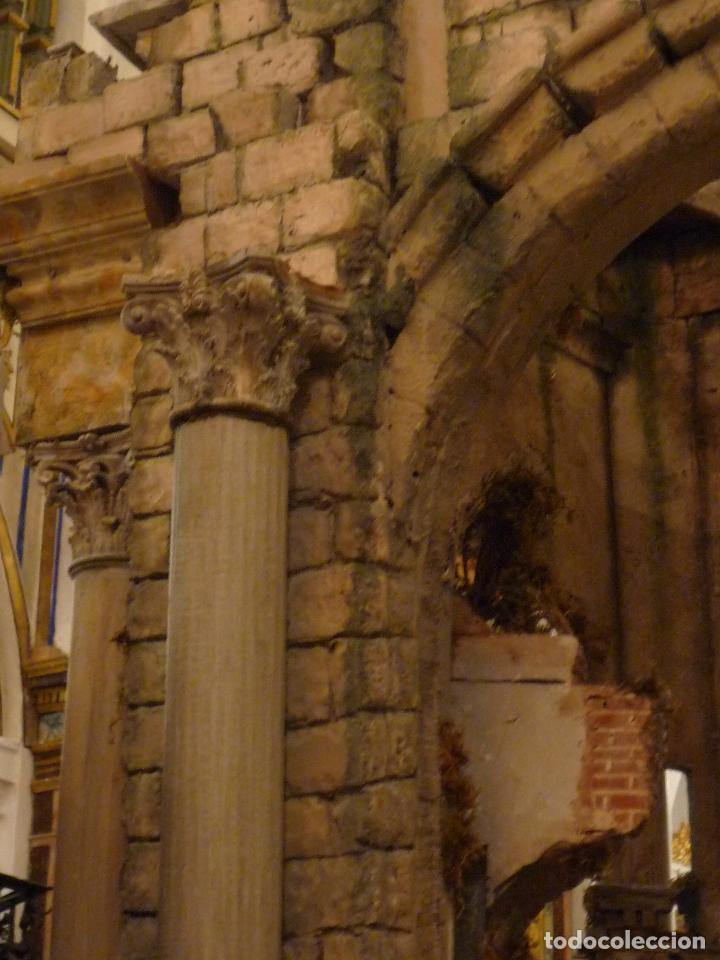 Arte: Nacimiento napolitano, precioso tabernaculo del s. XVIII para belen napolitano,Rebajado de 5000 eur - Foto 10 - 103977115