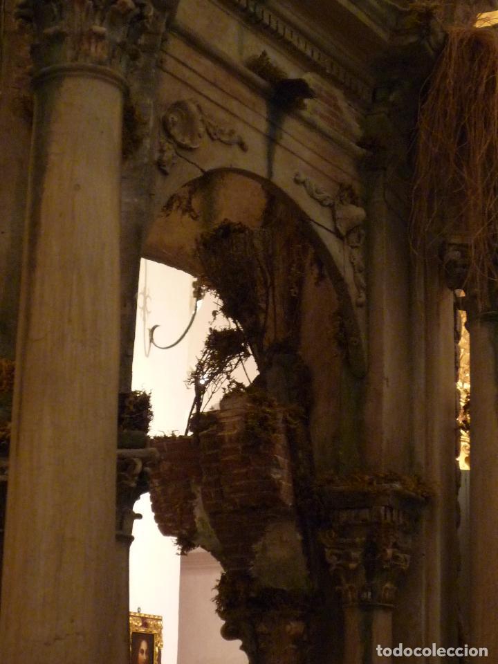 Arte: Nacimiento napolitano, precioso tabernaculo del s. XVIII para belen napolitano,Rebajado de 5000 eur - Foto 11 - 103977115