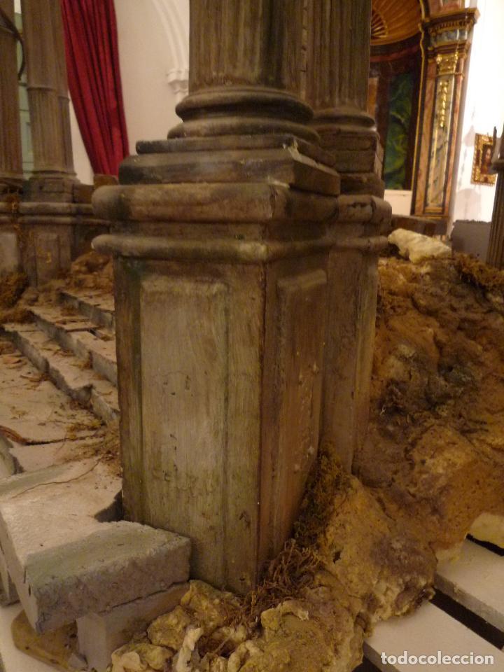 Arte: Nacimiento napolitano, precioso tabernaculo del s. XVIII para belen napolitano,Rebajado de 5000 eur - Foto 12 - 103977115