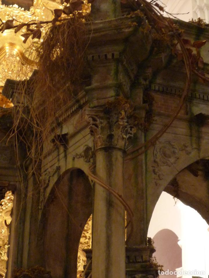 Arte: Nacimiento napolitano, precioso tabernaculo del s. XVIII para belen napolitano,Rebajado de 5000 eur - Foto 14 - 103977115