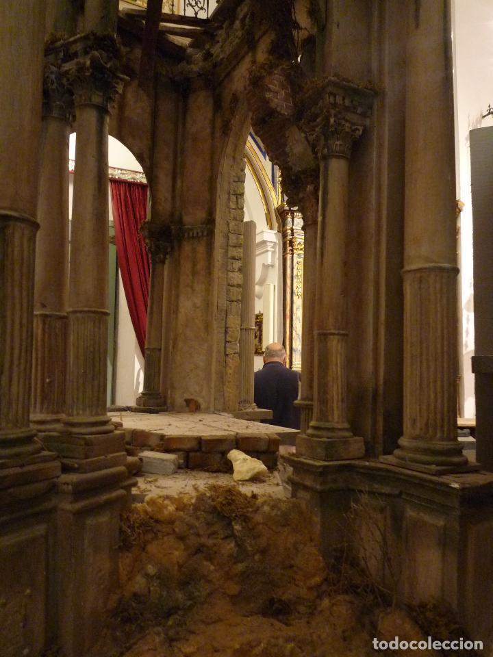 Arte: Nacimiento napolitano, precioso tabernaculo del s. XVIII para belen napolitano,Rebajado de 5000 eur - Foto 15 - 103977115