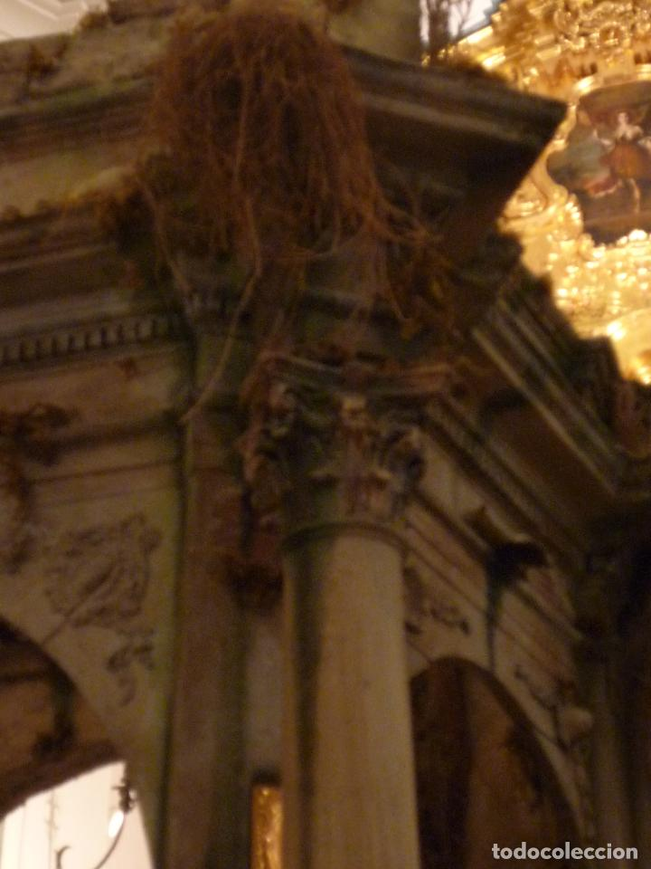 Arte: Nacimiento napolitano, precioso tabernaculo del s. XVIII para belen napolitano,Rebajado de 5000 eur - Foto 16 - 103977115