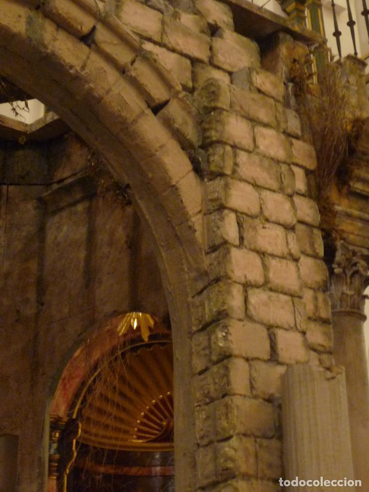 Arte: Nacimiento napolitano, precioso tabernaculo del s. XVIII para belen napolitano,Rebajado de 5000 eur - Foto 17 - 103977115