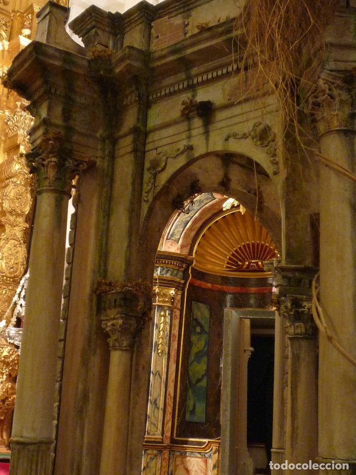 Arte: Nacimiento napolitano, precioso tabernaculo del s. XVIII para belen napolitano,Rebajado de 5000 eur - Foto 18 - 103977115