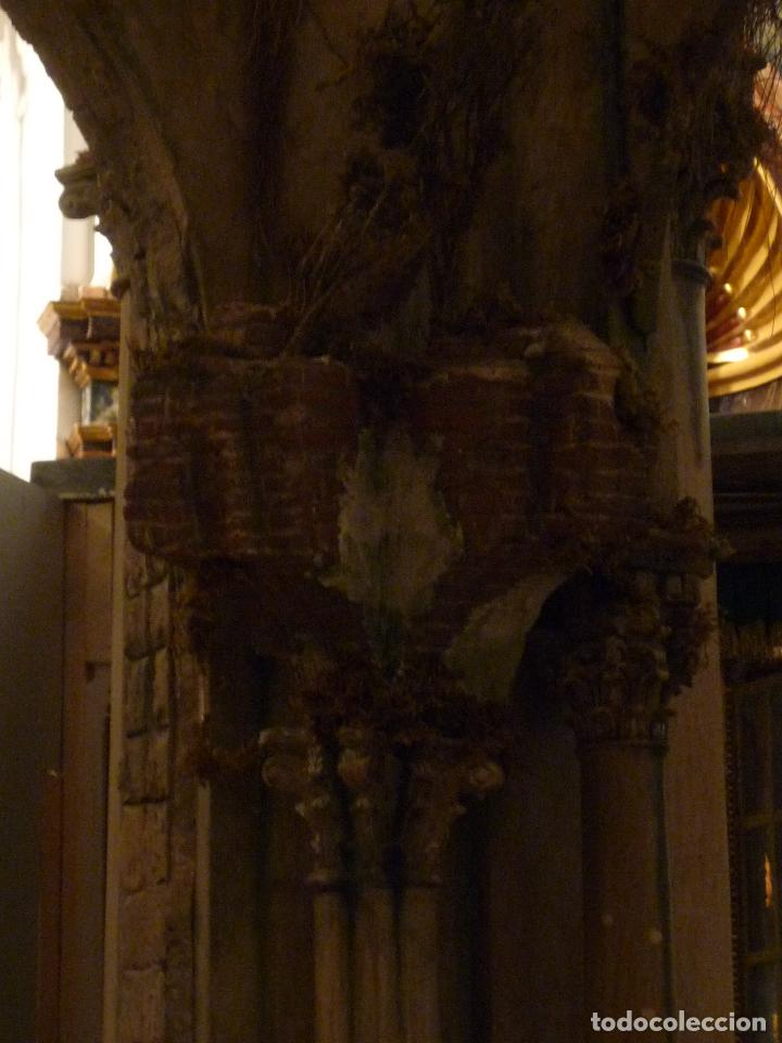 Arte: Nacimiento napolitano, precioso tabernaculo del s. XVIII para belen napolitano,Rebajado de 5000 eur - Foto 19 - 103977115