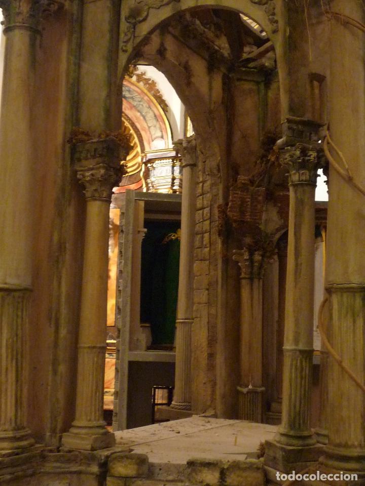 Arte: Nacimiento napolitano, precioso tabernaculo del s. XVIII para belen napolitano,Rebajado de 5000 eur - Foto 20 - 103977115