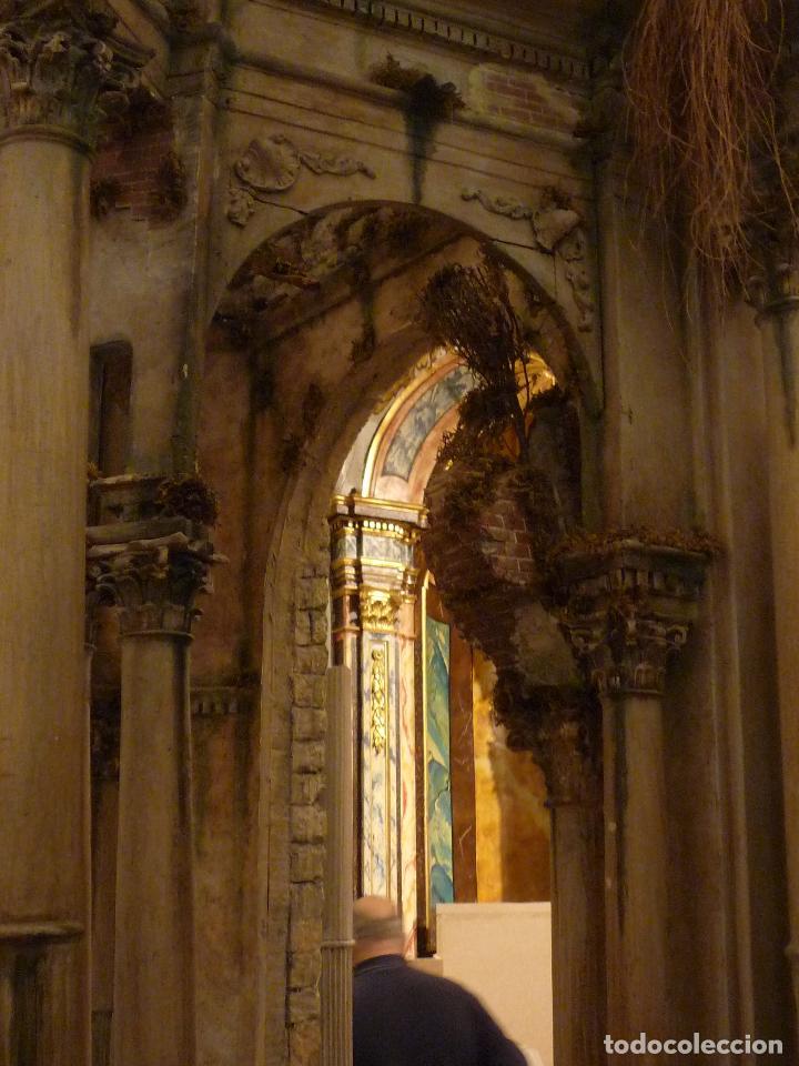 Arte: Nacimiento napolitano, precioso tabernaculo del s. XVIII para belen napolitano,Rebajado de 5000 eur - Foto 22 - 103977115