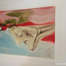 Arte: DIVINA COMEDIA. SALVADOR DALÍ. LITOGRAFÍA. 33X26 CM . Lote 104069399