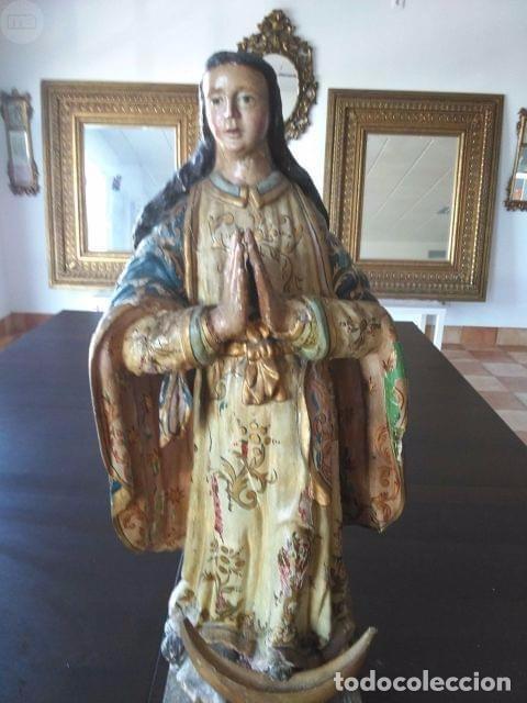 TALLA MADERA POLICROMADA (Arte - Arte Religioso - Escultura)
