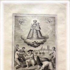 Arte: NUESTRA SEÑORA DE LA SALUD. VENERADA EN EL LUGAR DE CHIRIVELLA. AZNAR VICENTE. Lote 104313375