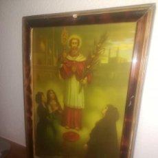 Arte: SAN RAMON NONATO - PATRON DE LAS PARTURIENTAS - CUADRO PRINCIPIOS SIGLO XX . Lote 104550743