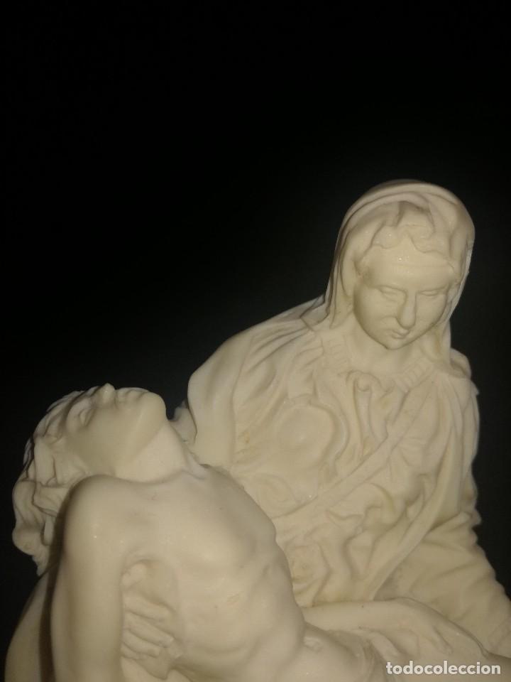 Arte: LA PIEDAD, TALLADA EN ESPUMA DE MAR, PRECIOSA. - Foto 5 - 104560911