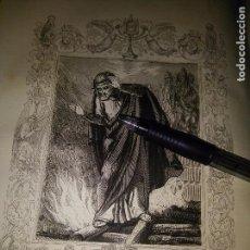 Arte: REF: KK - AÑO 1852 ORIGINAL GRABADO DE LA EPOCA RELIGIOSO - SANTA POLONIA O APOLONIA VIRGEN Y MARTIR. Lote 104634487