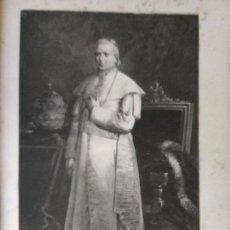 Arte: ESPECTACULAR GRABADO ORIGINAL 1867 PIO IX 30 X 20,5 CM - KOCH GRABADOR . Lote 104721391