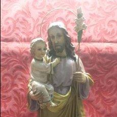 Arte: SAN JOSÉ CON NIÑO JESÚS EN BRAZOS. Lote 104734247