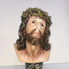Arte: BUSTO CRISTO DE LIMPIAS 40 CM. Lote 104801259