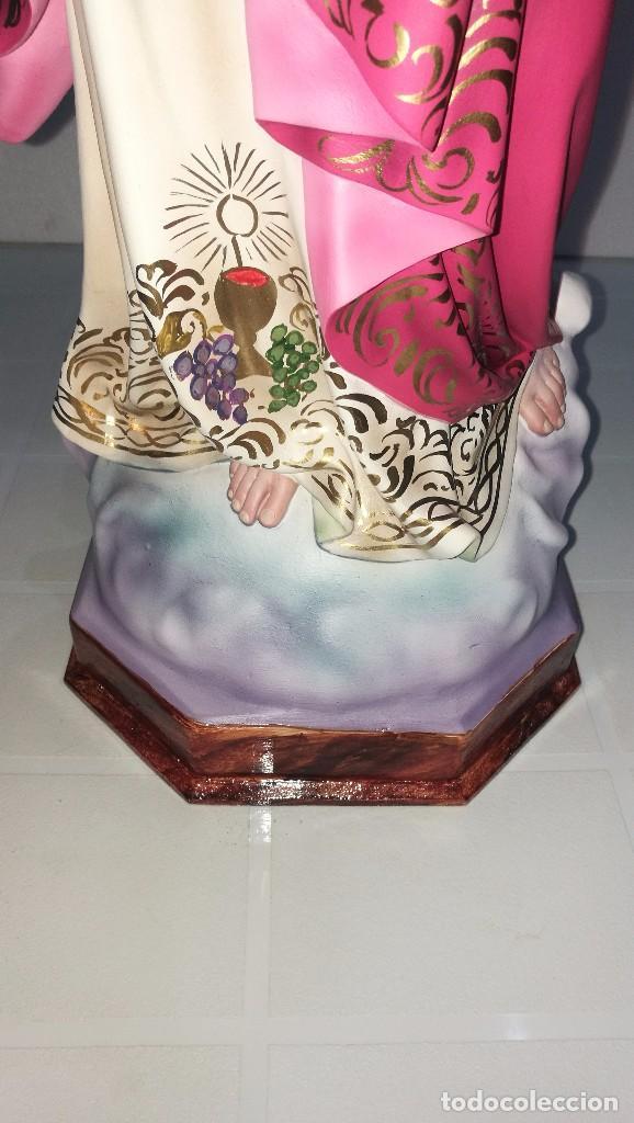 Arte: Escultura Cristo del Sagrado Corazón 60 cm - Foto 6 - 104802231