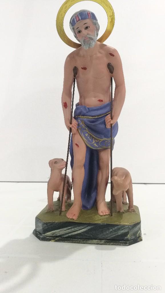 Arte: Escultura San Lázaro 30 cm - Foto 2 - 104806527
