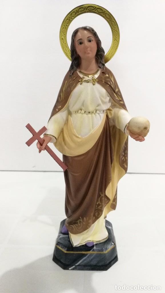 ESCULTURA SANTA MAGDALENA 30 CM (Arte - Arte Religioso - Escultura)