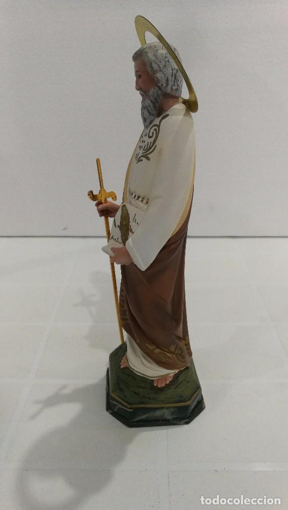 Arte: Escultura San Pablo 30 cm - Foto 2 - 104810843