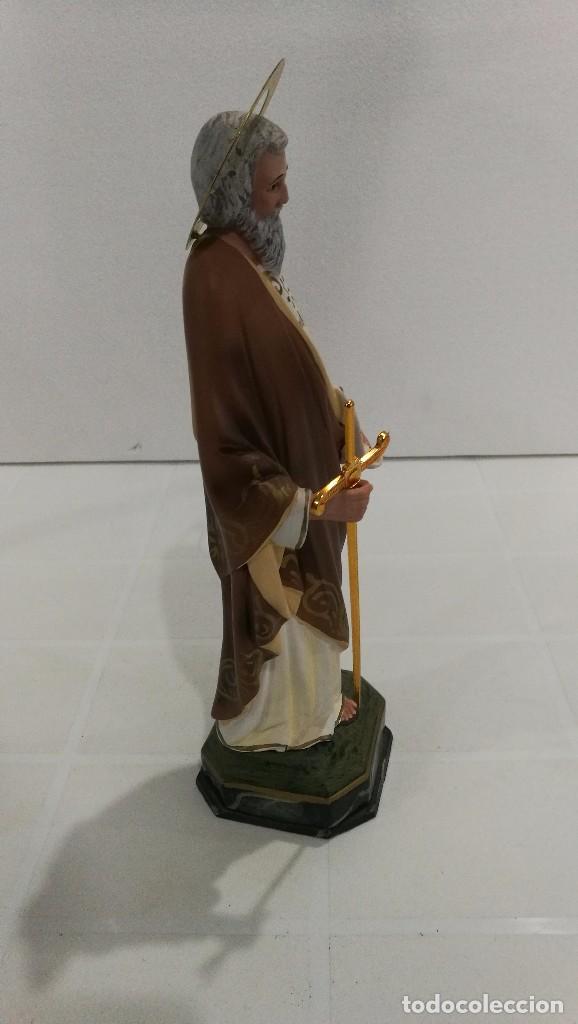 Arte: Escultura San Pablo 30 cm - Foto 3 - 104810843