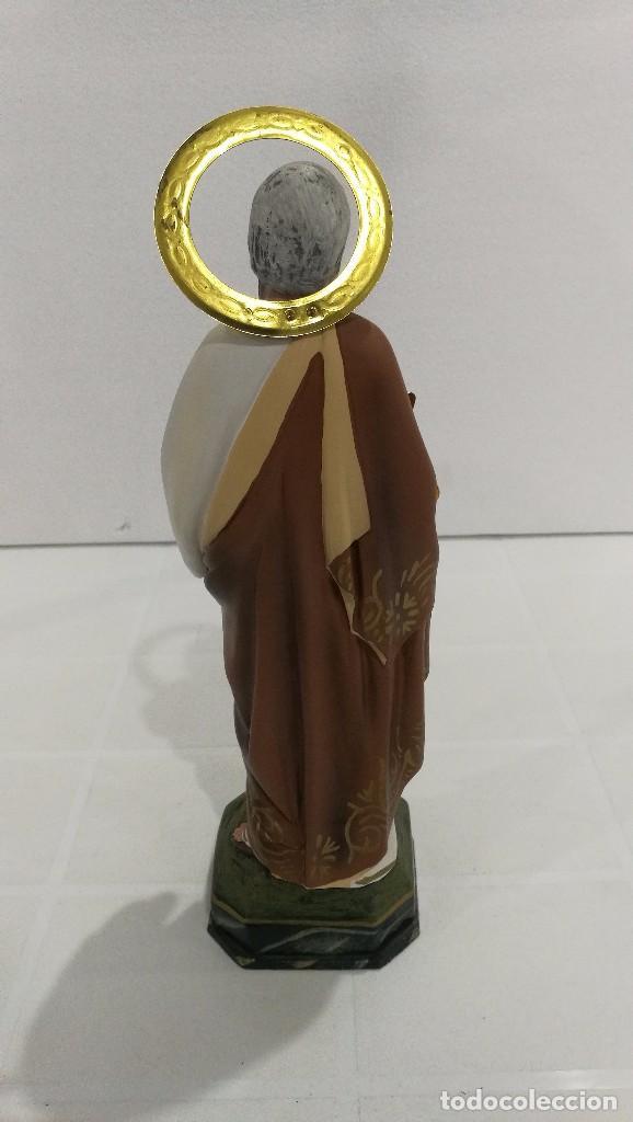Arte: Escultura San Pablo 30 cm - Foto 4 - 104810843