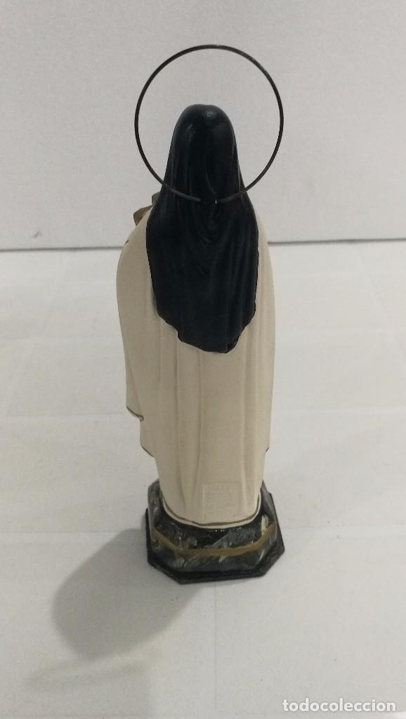 Arte: Escultura Santa Teresita 30 cm - Foto 4 - 104811959
