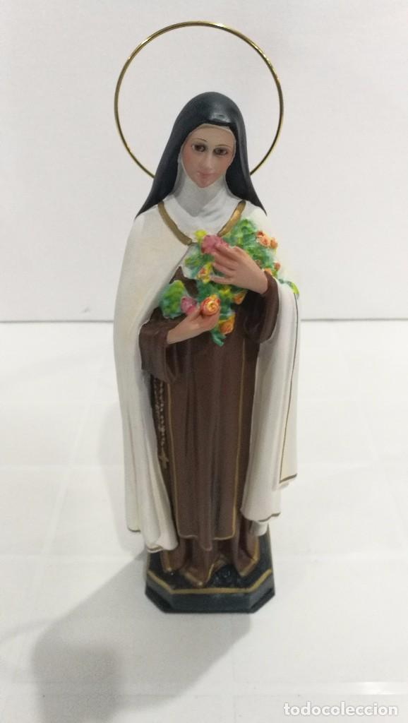 ESCULTURA SANTA TERESITA 20 CM (Arte - Arte Religioso - Escultura)