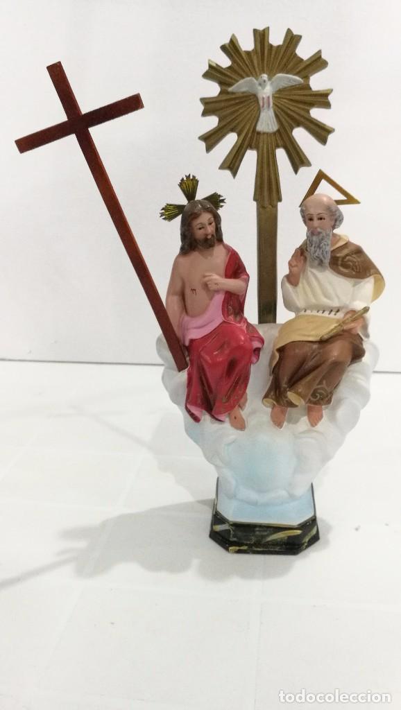 ESCULTURA SANTÍSIMA TRINIDAD 30 CM (Arte - Arte Religioso - Escultura)