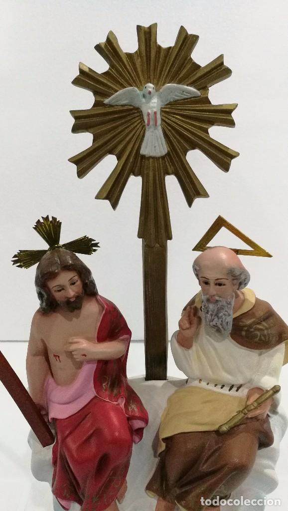 Arte: Escultura Santísima Trinidad 30 cm - Foto 2 - 144684890