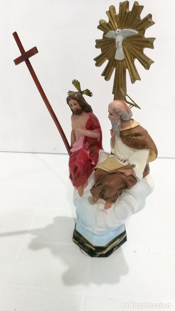 Arte: Escultura Santísima Trinidad 30 cm - Foto 3 - 144684890