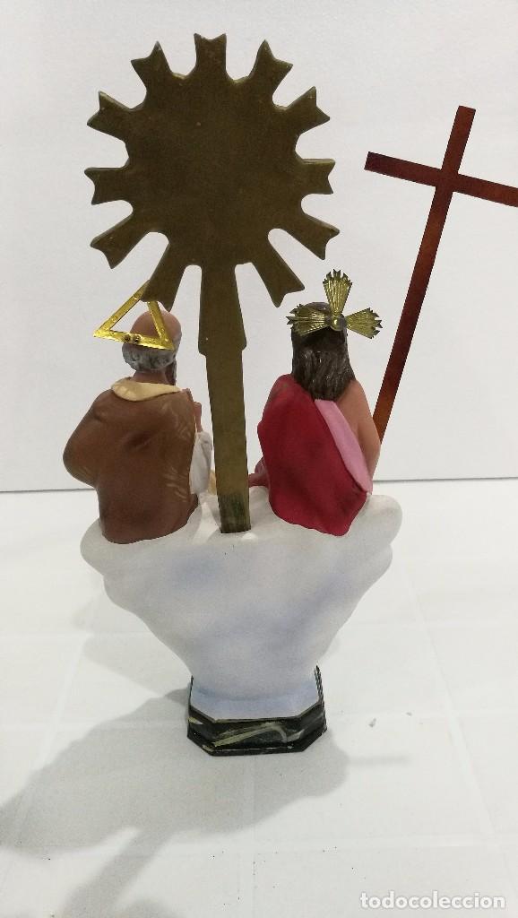 Arte: Escultura Santísima Trinidad 30 cm - Foto 5 - 144684890