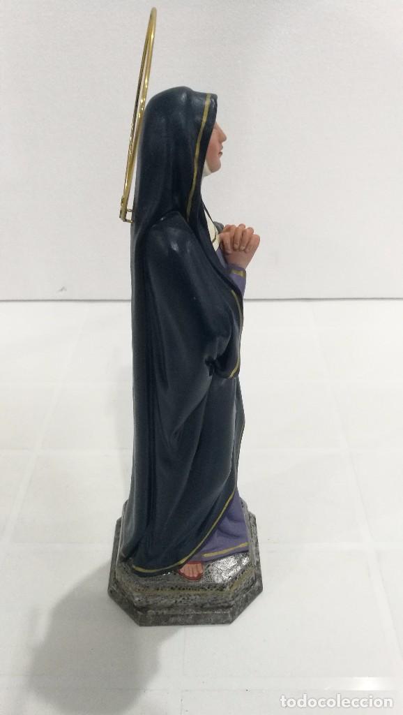 Arte: Escultura Virgen de Dolores 30 cm - Foto 4 - 116919468