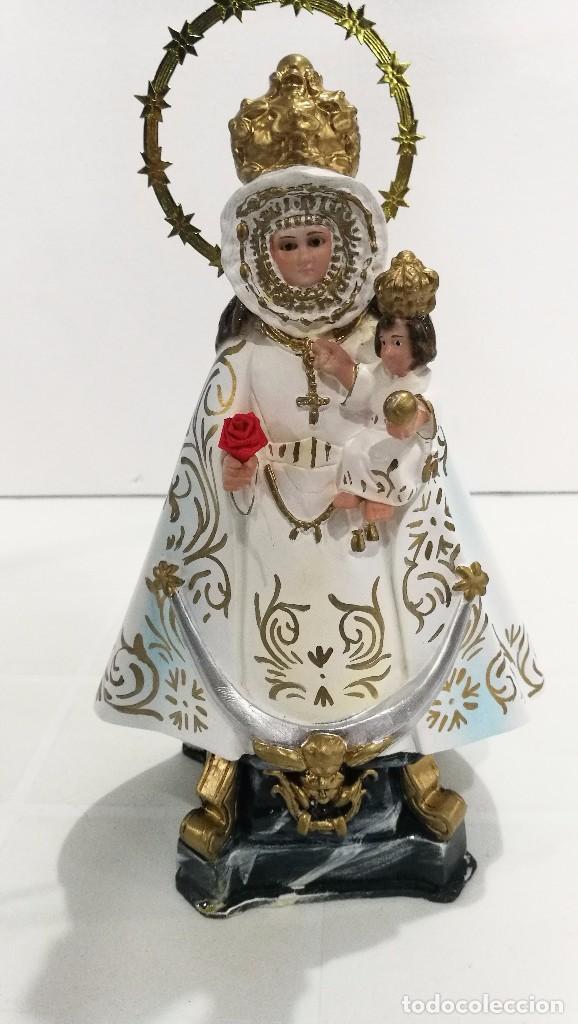 Arte: Escultura Virgen de la Fuensanta 25 cm - Foto 2 - 104818187