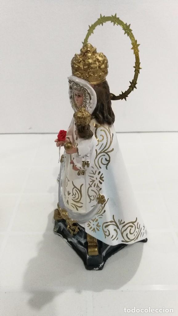 Arte: Escultura Virgen de la Fuensanta 25 cm - Foto 3 - 104818187