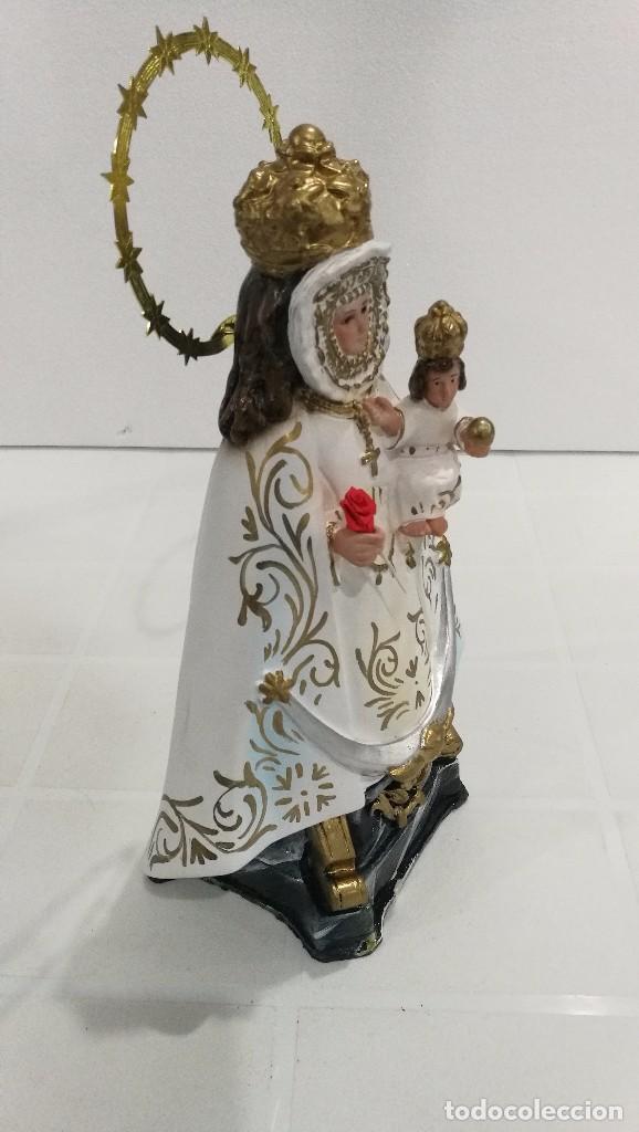 Arte: Escultura Virgen de la Fuensanta 25 cm - Foto 4 - 104818187