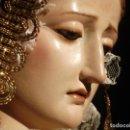 Arte: TOMAS PICAS ESCULTOR SXIX TALLA DE MADERA VIRGEN DE LA SOLEDAD 95CM. Lote 86099228