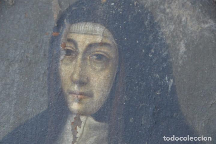 Arte: retrato monja siglo XVII - Foto 2 - 104892435