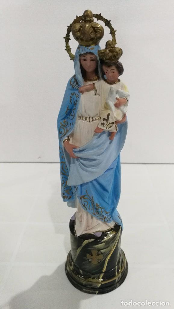 ESCULTURA VIRGEN DEL PILAR 30 CM (Arte - Arte Religioso - Escultura)