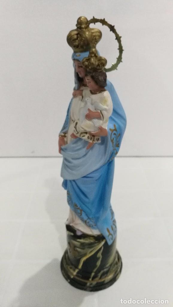 Arte: Escultura Virgen del Pilar 30 cm - Foto 3 - 104976587