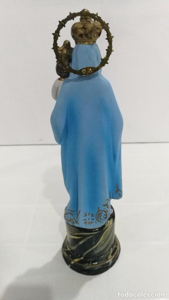 Arte: Escultura Virgen del Pilar 30 cm - Foto 4 - 104976587