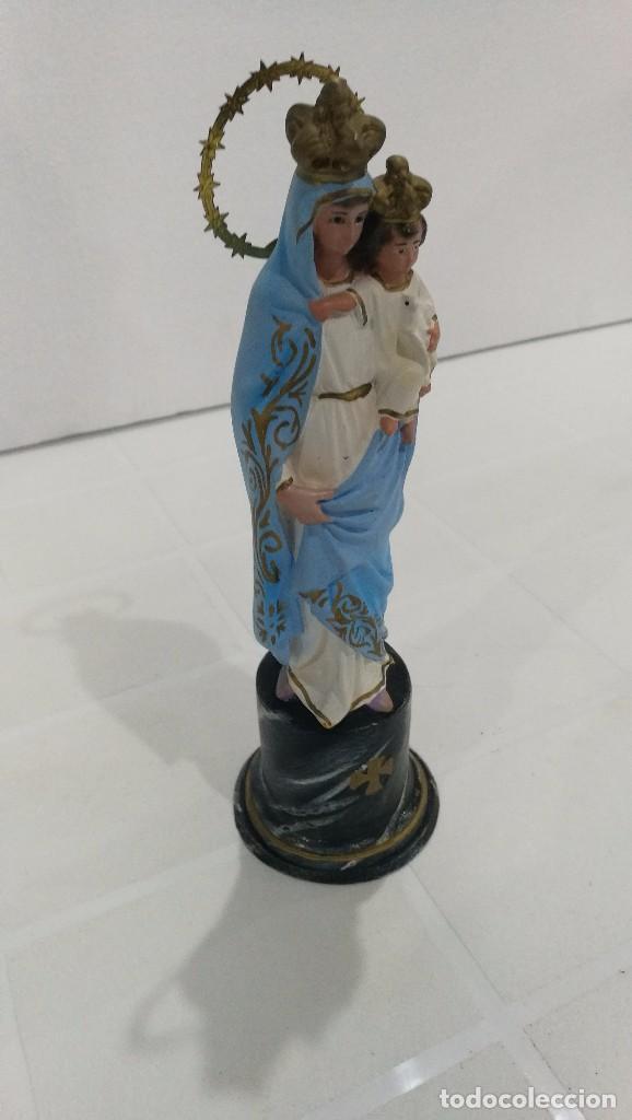 Arte: Escultura Virgen del Pilar 20 cm - Foto 3 - 104976983