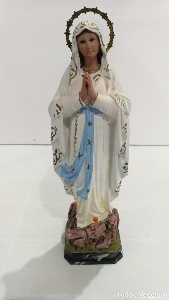 ESCULTURA VIRGEN DE LOURDES 30 CM (Arte - Arte Religioso - Escultura)