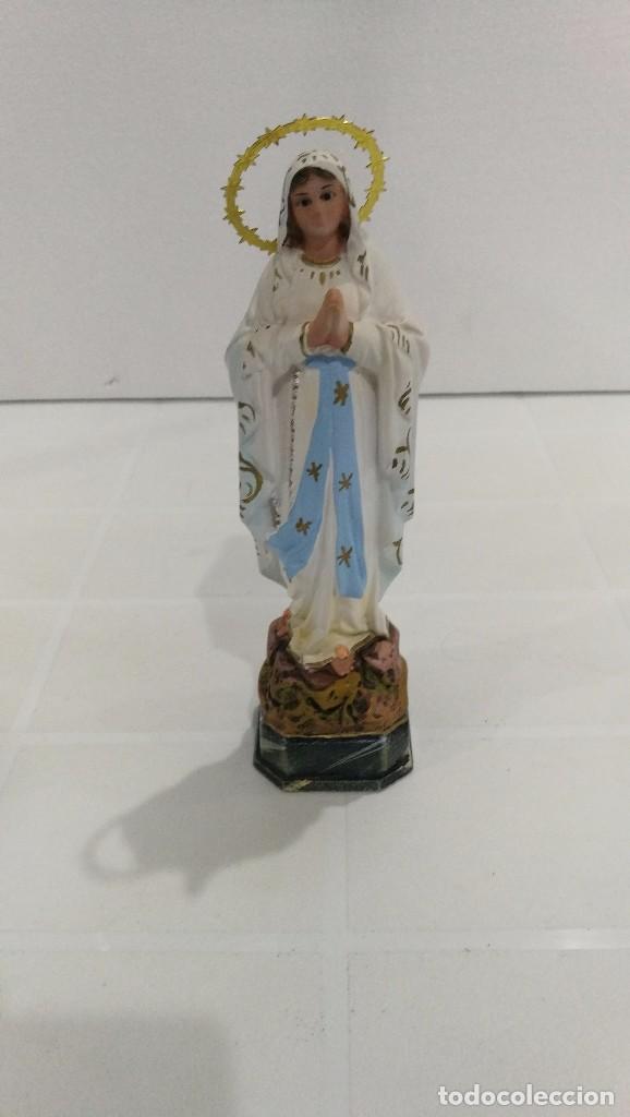 ESCULTURA VIRGEN DE LOURDES 20 CM (Arte - Arte Religioso - Escultura)