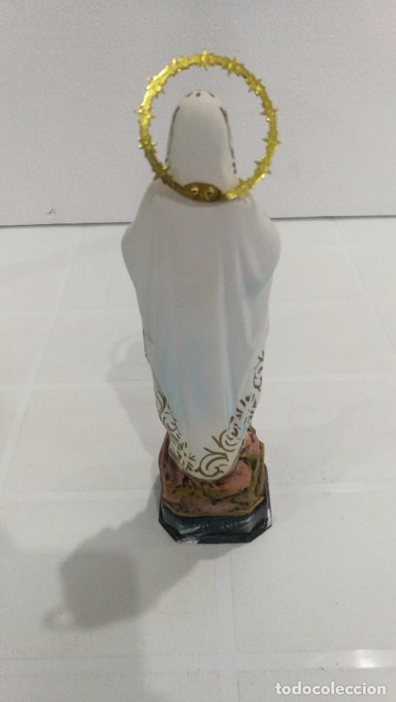 Arte: Escultura Virgen de Lourdes 20 cm - Foto 4 - 104977427