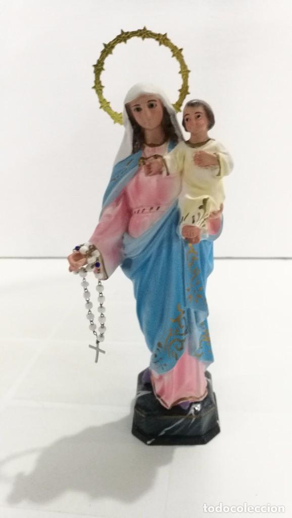 ESCULTURA VIRGEN DEL ROSARIO 20 CM (Arte - Arte Religioso - Escultura)