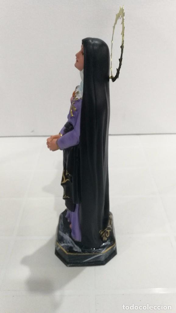 Arte: Escultura Virgen Dolorosa 30 cm - Foto 2 - 104978019